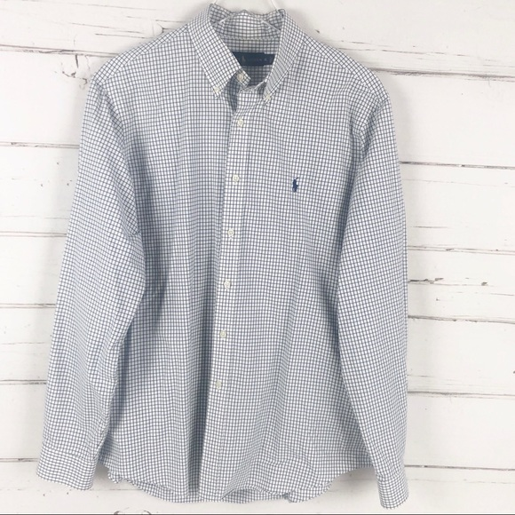 Ralph Lauren Other - Ralph Lauren plaid check button down shirt mens A1